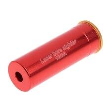 Red Laser Bore Sight 12 Gauge Barrel Cartridge Boresighter For 12GA Shotguns цена в Москве и Питере