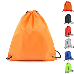 String Drawstring Back Pack Cinch Sack Gym Tote Bag School Sport Shoe Bag NEW(China)