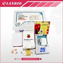 G raspberry pi kit-Framboise Pi 3 Conseil + 5 V 2.5A Alimentation + cas + Dissipateur de Chaleur Pour Raspberry Pi 3 Modèle B wifi & bluetooth