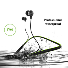 HT1 Waterproof Bluetooth earphone wireless headphones sport waterproof earphone active noise cancelling music play  for iphone