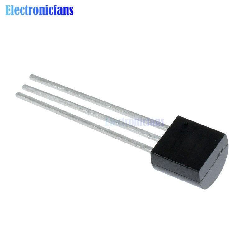 DS18B20 посылка из нержавеющей стали 1 м/2 м/2,5 м/3 м водонепроницаемый DS18b20 цифровой датчик температуры NTC датчик термический кабель - Цвет: DS18B20 chip