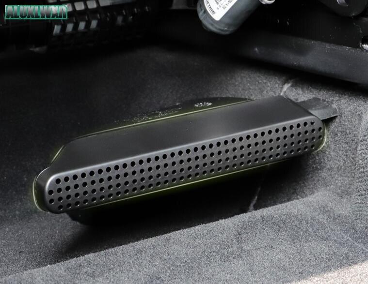 Автомобиль-Стайлинг сиденье AC тепловой пол воздуховод кондиционера вентиляционная решетка крышка автомобиля аксессуары для volvo XC60 XC90