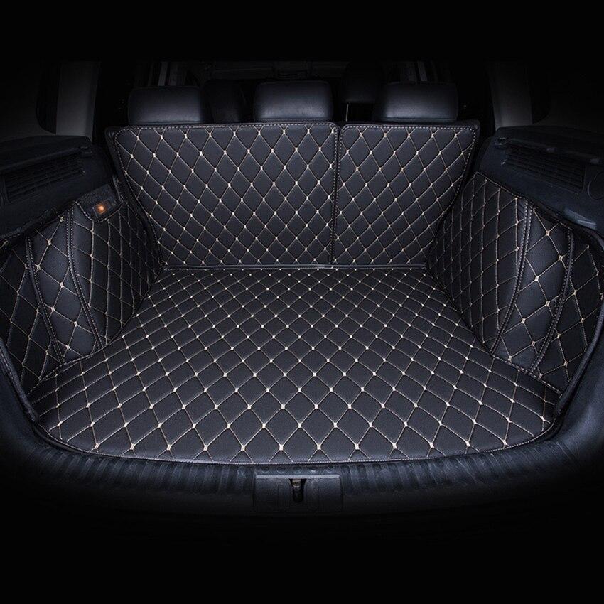 Kofferraum Matten Angepasst F 252 R Vw Volkswagen Touareg Polo