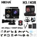 """H3R originais Controle Remoto Da Câmera de Ação Ultra 4 k WIFI HD 2.0 """"170D Dual Screen Câmeras Ir À Prova D' Água Esporte Pro Câmera Do Capacete"""