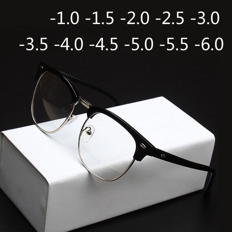 1,0-1,5-2,0 zu-4,0 Strahlung Schutz Niet Brillen Frauen Halb Rahmen ...