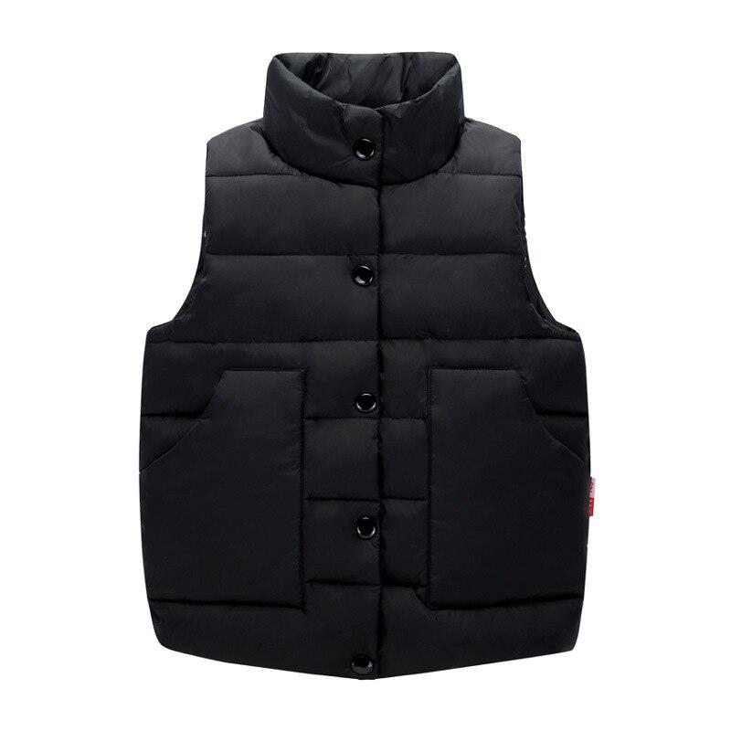Children Winter Outerwear Vest Girls Down Jacket Kids Autumn Winter Coat Thick Down Vest 3 7y ...