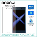 Protetor de tela premium real de vidro temperado film 9 h ultrafinos para sony xz