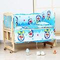 Baby bedding set de cuna recién nacido almohada bebé cuna bedding set 100% algodón hoja/almohadilla de tope del pesebre cuna establece cuna parachoques