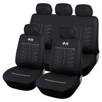 High Quality Car Seat Covers Racing Tire Lines Car Styling Universal Accessories For lada Nissan Almera Opel Astra VW Polo Golf