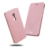 6 Color 2017 Original Mofi Brand Fashion Girl Flip Cover For Xiaomi Redmi Note 4X PU