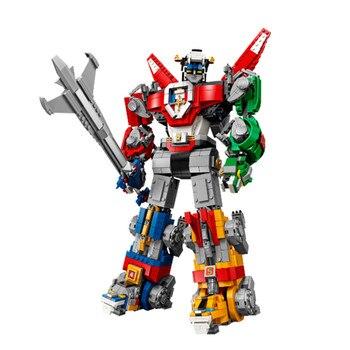 New Movie Transformation Change Robot Model Building Blocks Action Figure Brick Deformation Robot Toy for children Christmas