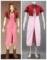 Final Fantasy VII Aerith Gainsborough cosplay costumes halloween