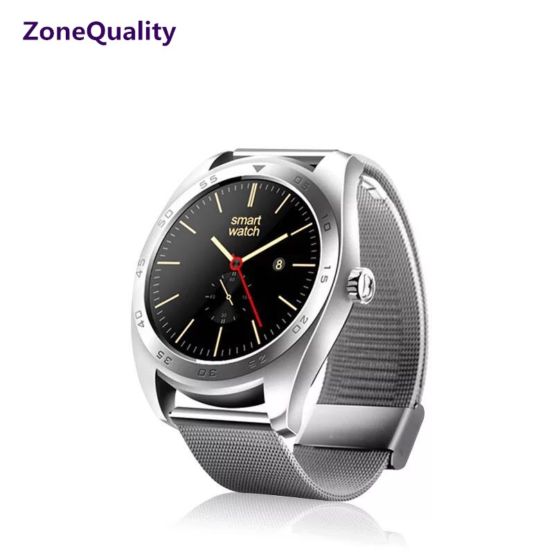 ZoneQuality K89 round screen heart rate monitoring smartwatch Bluetooth watch For iPhone IOS Android phone for men women watch цена и фото