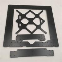 Black color Reprap Prusa i3 MK3 Aluminium composit frame kit 6mm Melamine Prusa i3 MK3 Frame