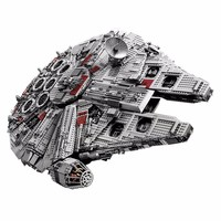 Лепин 05033 5265 шт. Ultimate коллекционера Сокол Тысячелетия модель здания комплект блоки кирпичи игрушки детям подарки, совместимые 10179