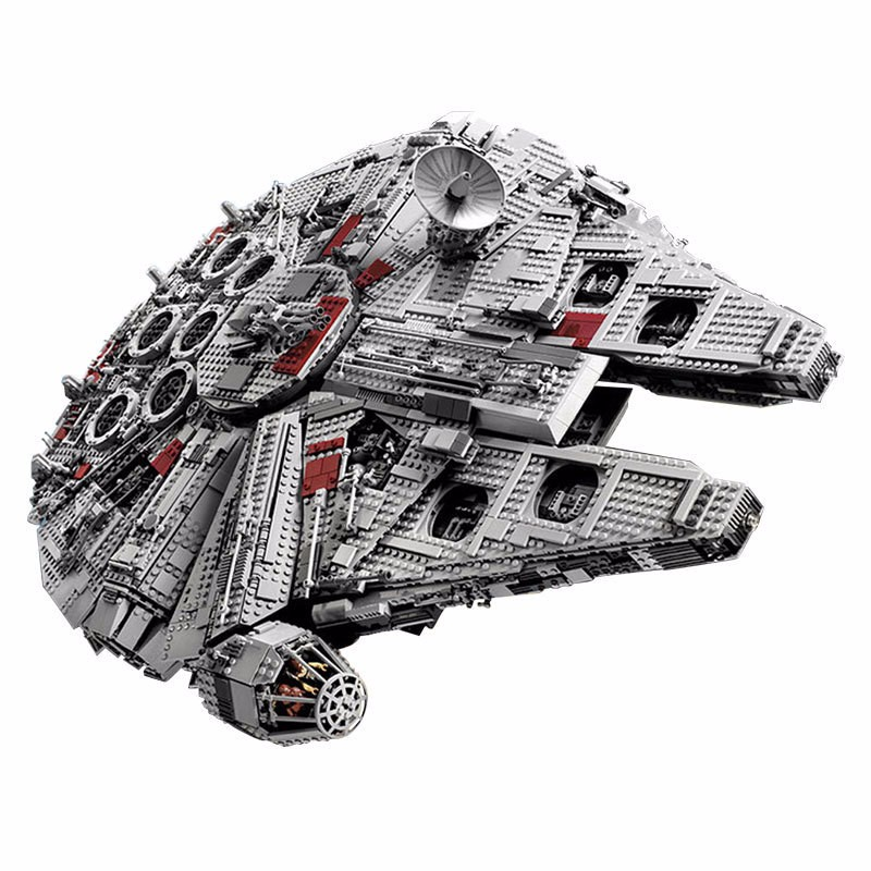 LEPIN 05033 5265Pcs Star Series Wars Ultimate Collector's Millennium Falcon Model Building Blocks Bricks Toys Compatible 10179