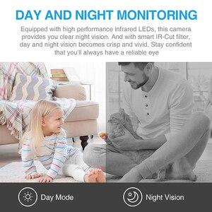 Image 4 - INQMEGA 1080 1080P Hd クラウド Wifi カメラインテリジェント自動追尾猫キティ IP カメラワイヤレスホームセキュリティカメラナイトビジョン