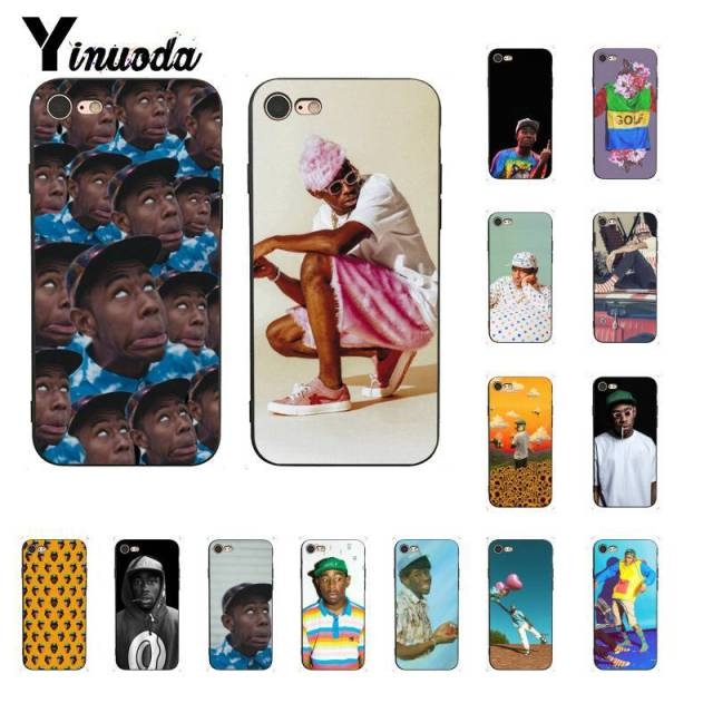 29c47c6ce4f5 Yinuoda Tyler The Creator meme TPU Soft Silicone Phone Case Cover for iPhone  X XS MAX 6 6S 7 7plus 8 8Plus 5 5S XR