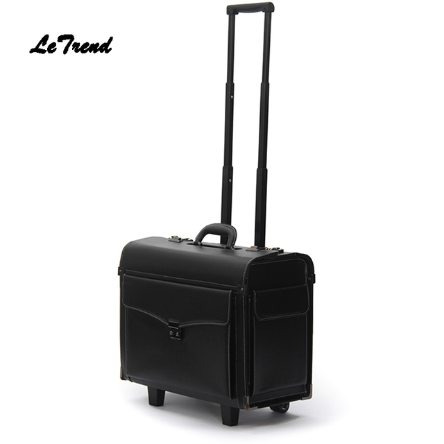 Aliexpress.com : Buy Letrend Stewardess Rolling Luggage 19 inch ...
