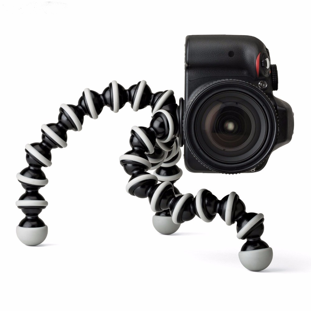 Large Octopus Flexible Tripod Stand for Gopro for phone telefon Mobile Phone smartphone and camera Table Desk mini tripod