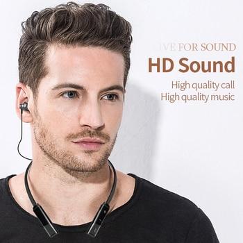 Wireless Bluetooth Sport Headphones Waterproof Super Bass 4.2 Earphone Neckband Earpiece Stereo Headset Magnetic 230mAh Battery