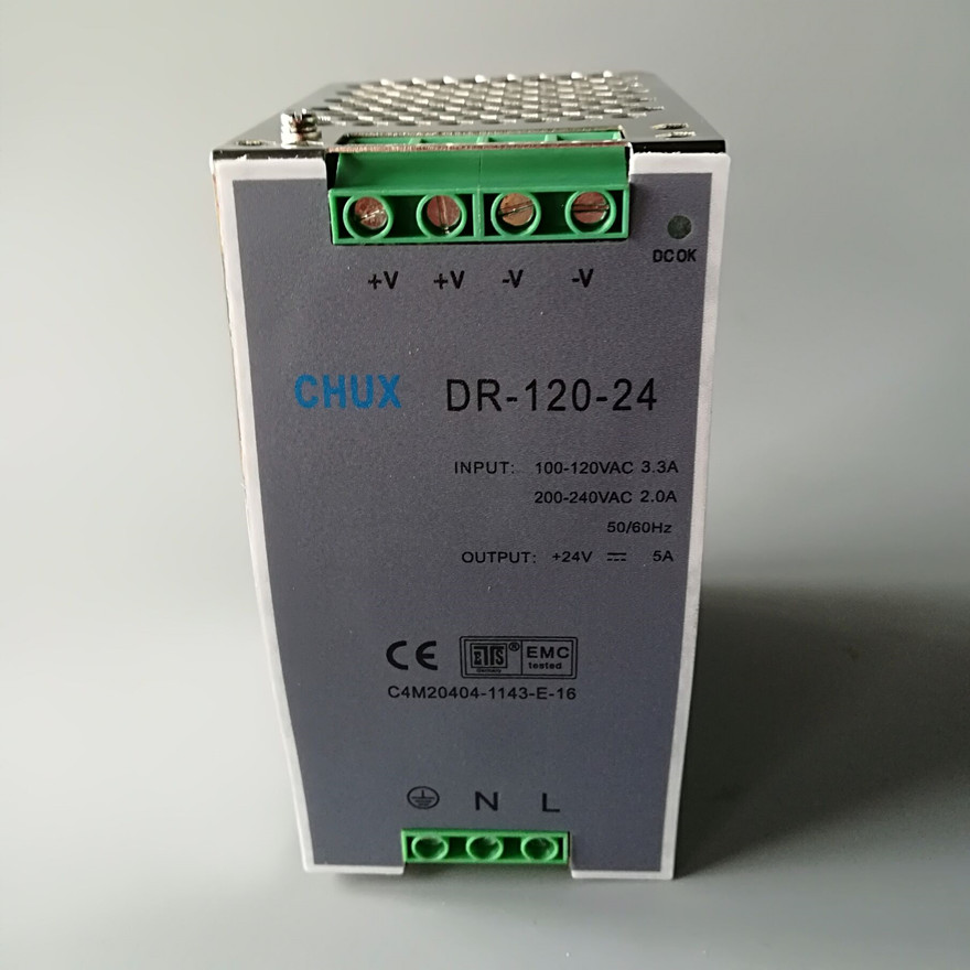 Image 4 - Din Rail Switching Power Supply 120W 12v 24v 48v DC AC DR120W Single Output LED Driver SMPS Switch Transformer-in Switching Power Supply from Home Improvement