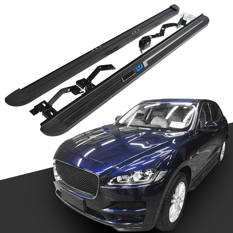 Platform Side Step for Jaguar F-Pace 2016-2020 Running Board Nerf Bar Pair