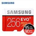 Samsung micro sd 16 gb 32 gb 64 gb 128 gb 256 gb evo além de cartões microsd Cartão de memória SDXC SDHC Max 80 M/s C10 Cartão TF Trans Flash Mikro
