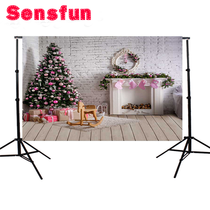 Vinyl photography background Computer Printed Christmas Photography backdrops for Photo studio 10X10ft
