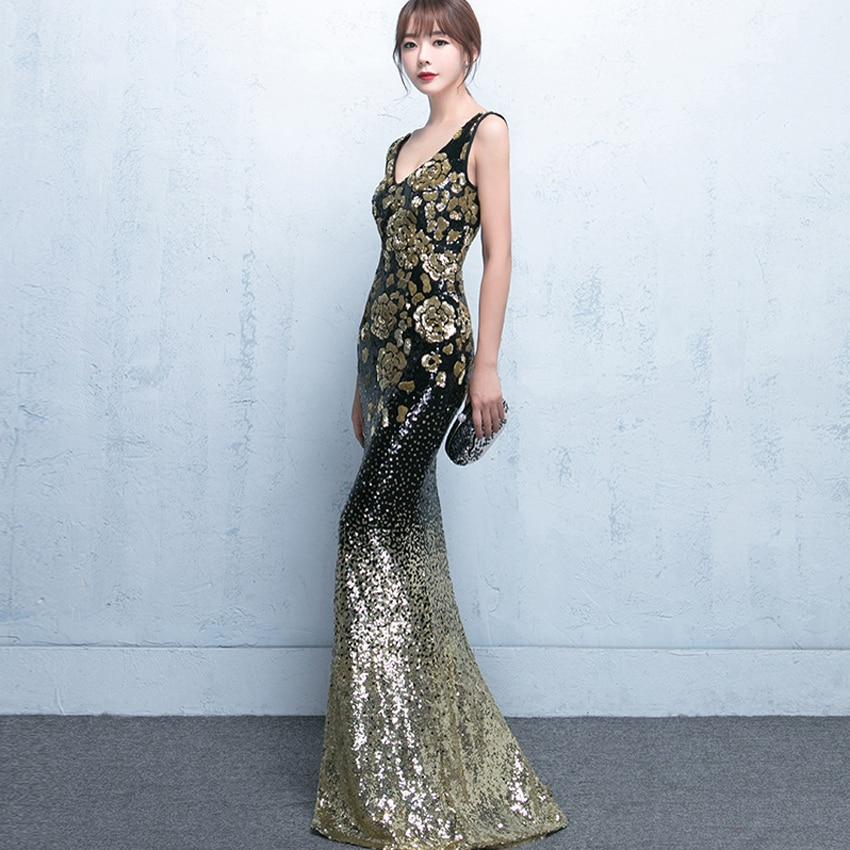 Popular Designer Black Evening Gowns-Buy Cheap Designer Black ...