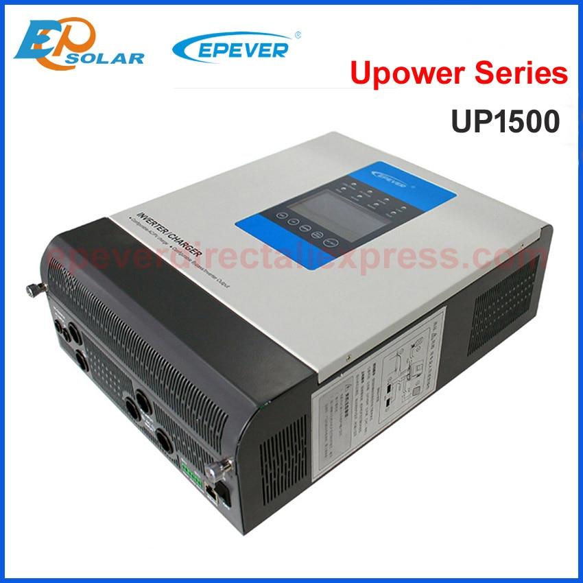 Контроллер солнечного зарядного устройства EPEVER MPPT 30A Гибридный синусоидальный инвертор 24VDC вход в 220VAC 230VAC выходное зарядное устройство и ин