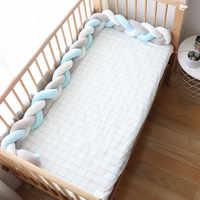 Детские бамперы защита для кроватки для новорожденных Nodic Декор детской комнаты детская коса детская кроватка бампер для коляски детская к...