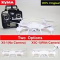 Syma x5c x5c-12.4g drones zangão com câmera rc helicóptero 2,4g profissional ou x5 syma x5-1 nenhuma câmera vs h8c h31 h37 x5sc x5sw x8c