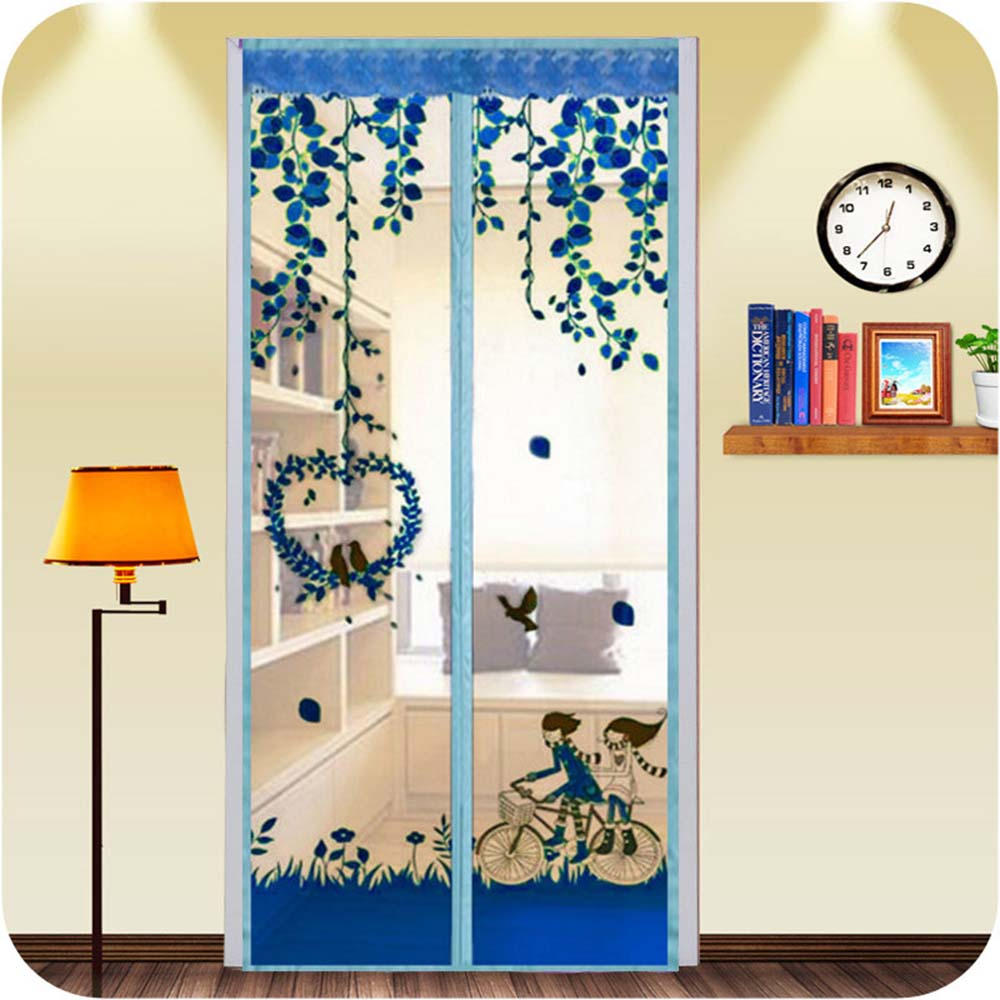 Multicolor Magnetic Net Mosquito Net Couple 210 X 90cm Automatic Closing Magnet Curtain Summer Kitchen Mosquito Net Deworming