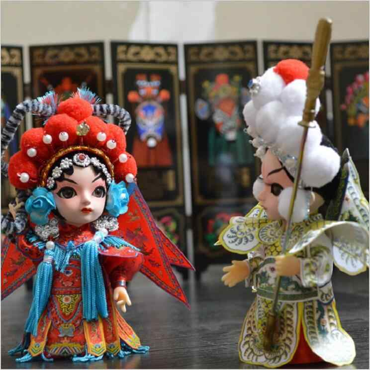 Кукла тангренфанг Пекинская опера, китайская Кукла, народные ремесла, украшения за рубежом, подарки, Пекин, Juanren, игрушки для детей
