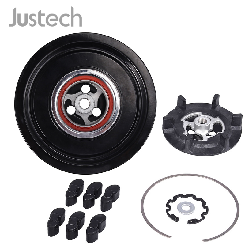 Justech Magnetic Clutch Air Conditioning Compressor Coupling For Mercedes Benz 6PK 110MM W203 W204 W211 W163