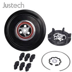 Justech sprzęgło magnetyczne sprężarka klimatyzacji sprzęgła/złącza dla Mercedes Benz 6PK/110MM W203 W204 W211 W163 7SEU16C A0022300911|Wentylatory i zestawy|   -