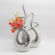 Home Decor Abstract Modern Sculpture Living Room Crafts White Ceramic Originality Furnishing Ornament Porcelain Fashion