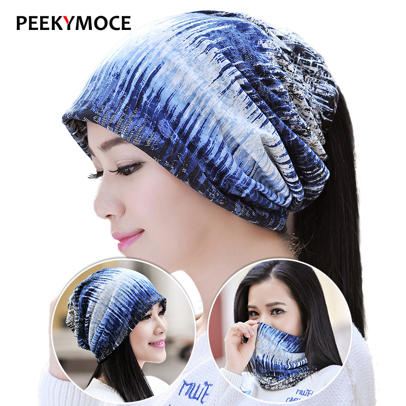 New Fashion 2 Used Women Hat Scarf  Autumn Brand Knitted Hat Cap Female Caps 4 Colors Casual Beanies Skullies Solid Bonnet miaoxi women autumn hat two used caps knitted scarf adult unisex casual letter beanies warm autumn beauty skullies hat girl cap