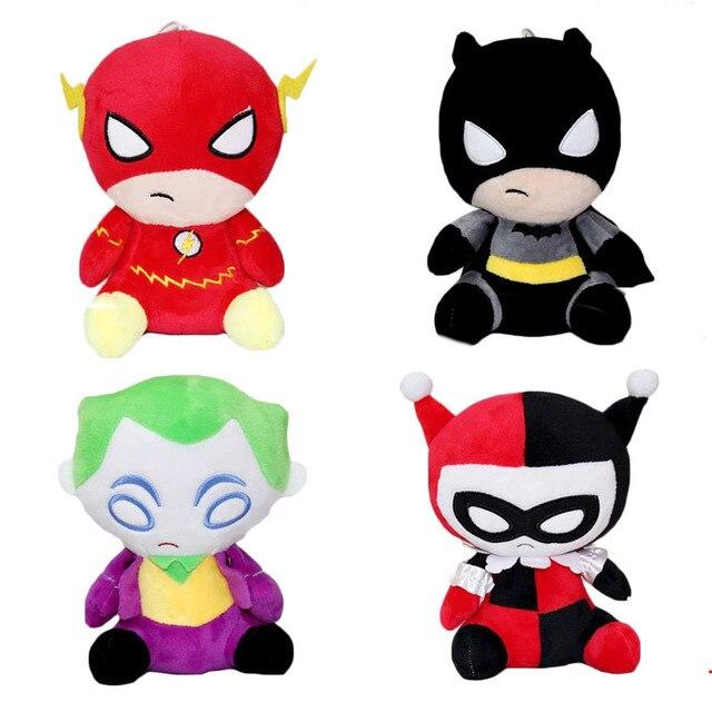 2017 New Plush Toys The Flash Batman Harley Quinn The Joker Soft