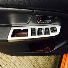 Автомобильная крышка welkinry для subaru xv 2013 2014 2015 хромированный