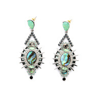 Royal Style Colorful Maxi Earrings New Design Drop Earrings Online Store Marquise Brand Jewelry