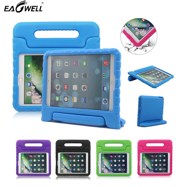 Kids Children Safe Rugged Proof Foam Case Handle Stand For Ipad 2017 9 7 Thick Eva