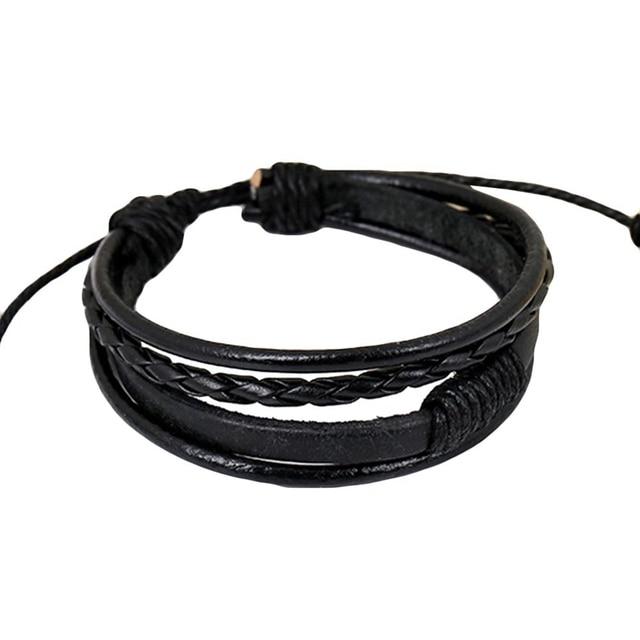 плетеные кожаные браслеты и браслеты многоуровневые кожаные браслеты