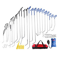 PDR Hooks Push Rod Crowbar Tools Dent Removal Paintless Dent Repair Tools Packaging Straighten The Dents Kit Ferramentas
