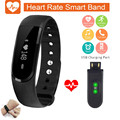 Bluetooth Smart band Fitness Tracker smart bracelet Passometer waterproof smartband heart rate monitor smart wristband PK miband