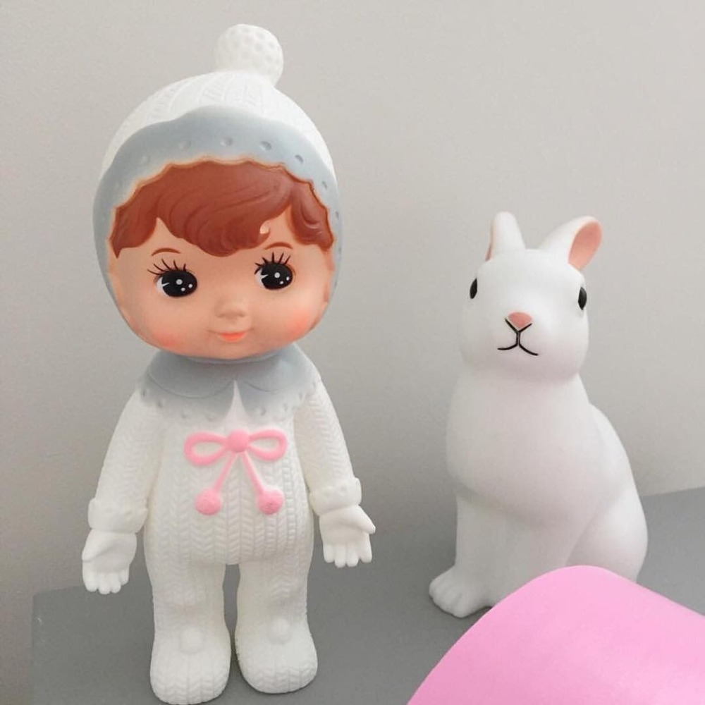Ins Japan Cute European Vintage Doll Toy Adorable Doll  Baby Girl Kids Gift Children Room Decoration Collection Piggy B