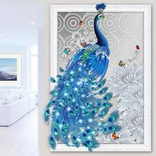 5D Diamond Embroidery Animal Peacock Cross Stitch DIY Diamond Painting landscape Diamond  rhinestones Home Decor love gift
