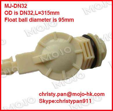 free shipping~ MJ-DN32 G11/4 Plastic Float Valve water float valve flush valve water tank float valve