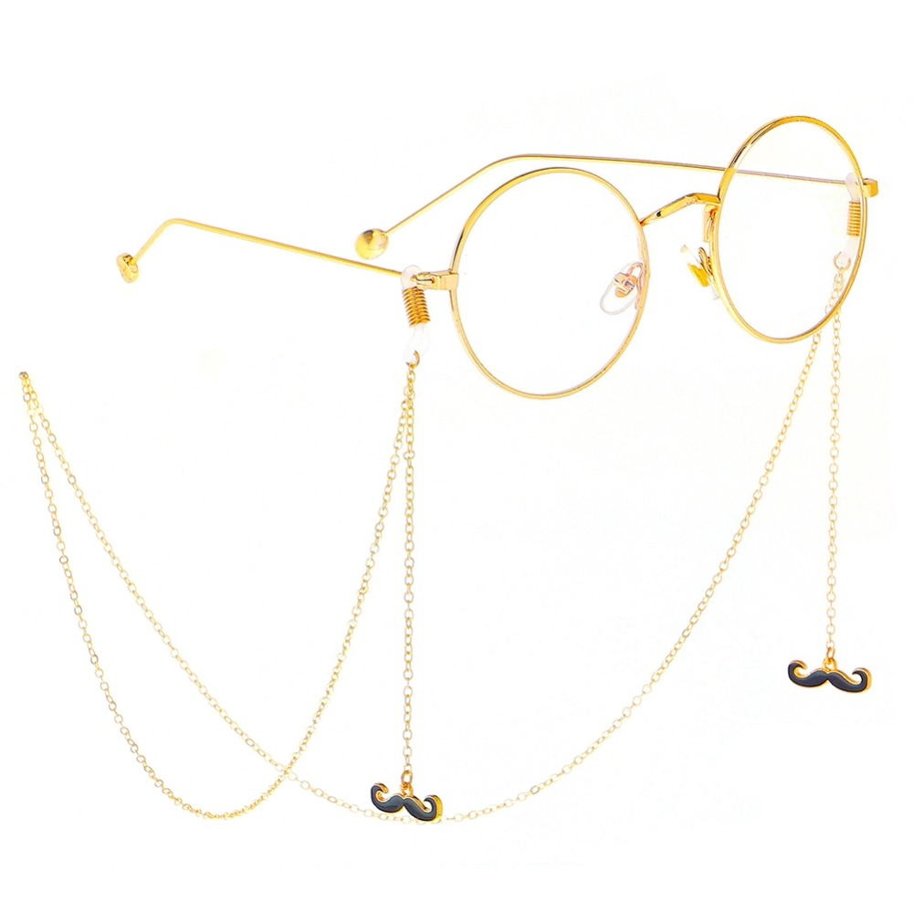 Crescent Moon Pendant EyeGlasses Chain